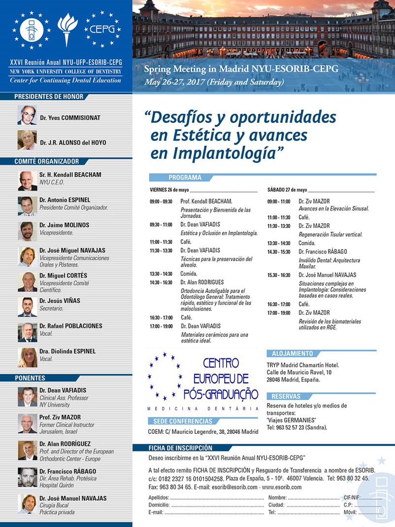 Madrid NYU 2017 EIC CEPG